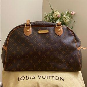 💯 Authentic Louis Vuitton Montorgueil Satchel